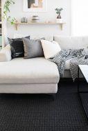 VM-Carpet matto Valkea 200x300 cm musta-harmaa