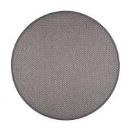 VM-Carpet Panama 9018 harmaa, Ø 200 cm, kantti 38