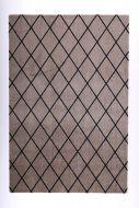 VM-Carpet Salmiakki 06 beige-musta, 80*150 cm