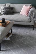 VM-Carpet Salmiakki 08 harmaa-valkoinen, 133*200 cm