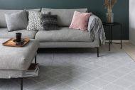 VM-Carpet Salmiakki 08 harmaa-valkoinen, 160*230 cm