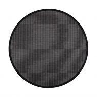 VM-Carpet Kelo musta/tummanharmaa 79/ 17, Ø 160 cm, kantti 99
