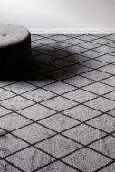 VM-Carpet Salmiakki 26 harmaa-musta,  133*200 cm