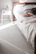 VM-Carpet matto Valkea 200x300 cm beige-harmaa