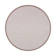 VM-Carpet Kelo beige/valkoinen 72/81 Ø 240 cm, kantti 32