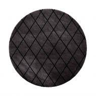 VM-Carpet Salmiakki 26 harmaa-musta,   Ø 133  cm