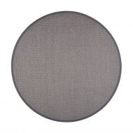 VM-Carpet Panama 9018 harmaa,  Ø 240 cm, kantti 38