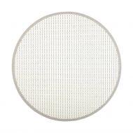 VM-Carpet matto Valkea ø 133 cm valko/musta