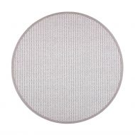VM-Carpet matto Valkea ø 133 cm beige-harmaa