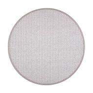 VM-Carpet matto Valkea ø 240 cm beige-harmaa