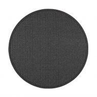 VM-Carpet matto Valkea ø 240 cm musta-harmaa