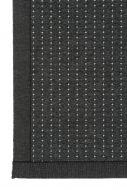 VM-Carpet käytävämatto Valkea  80x300 cm musta-harmaa