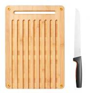 Fiskars Functional Form leipälauta -ja veitsi setti