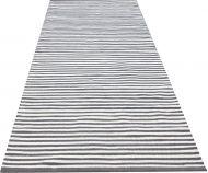 Create Home Matto Pouta raidall.80x150cm harmaa-valkoinen