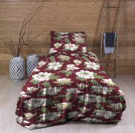 Create Home satiinipussilakanasetti Atsalea 150x210+55x65 cm t.punainen