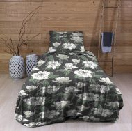 Create Home satiinipussilakanasetti Atsalea 150x210+55x65 cm t.harmaa