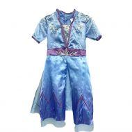 My Fantasy world jääprinsessan mekko, sininen 4-7 v.