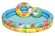 Bestway uima-allas Ilmatäytteinen 122x20 cm sis.pallon ja renkaan