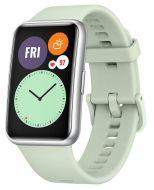 Huawei Watch Fit älykello hopea/vihreä 55025877