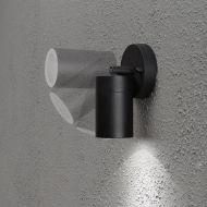Konstsmide Modena GU10 suunnattava seinäspotti musta