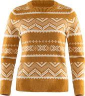 Fjällräven naisten neule Greenland Re-Wool Pattern Knit W