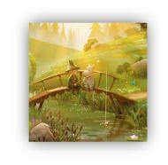 Optodesign Lasinalunen Moominvalley Moomi & Niisku 6 kpl