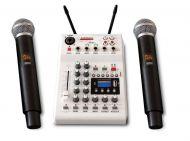 AudioDesignPRO mikseri ja 2 langatonta mikrofonia PAMX2 12