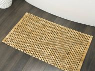 Pisla kylpyhuonematto Woodblock 52x90 cm teak