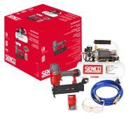 Senco kompressori AC4504 58DB 4L + FP18MG 1,2 mm + letku