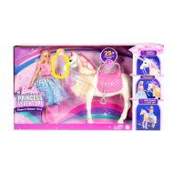 Barbie nukke Princess Adv. Feature Horse