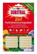 Substral Hyönteistorjuntapuikot 2in1 10 kpl
