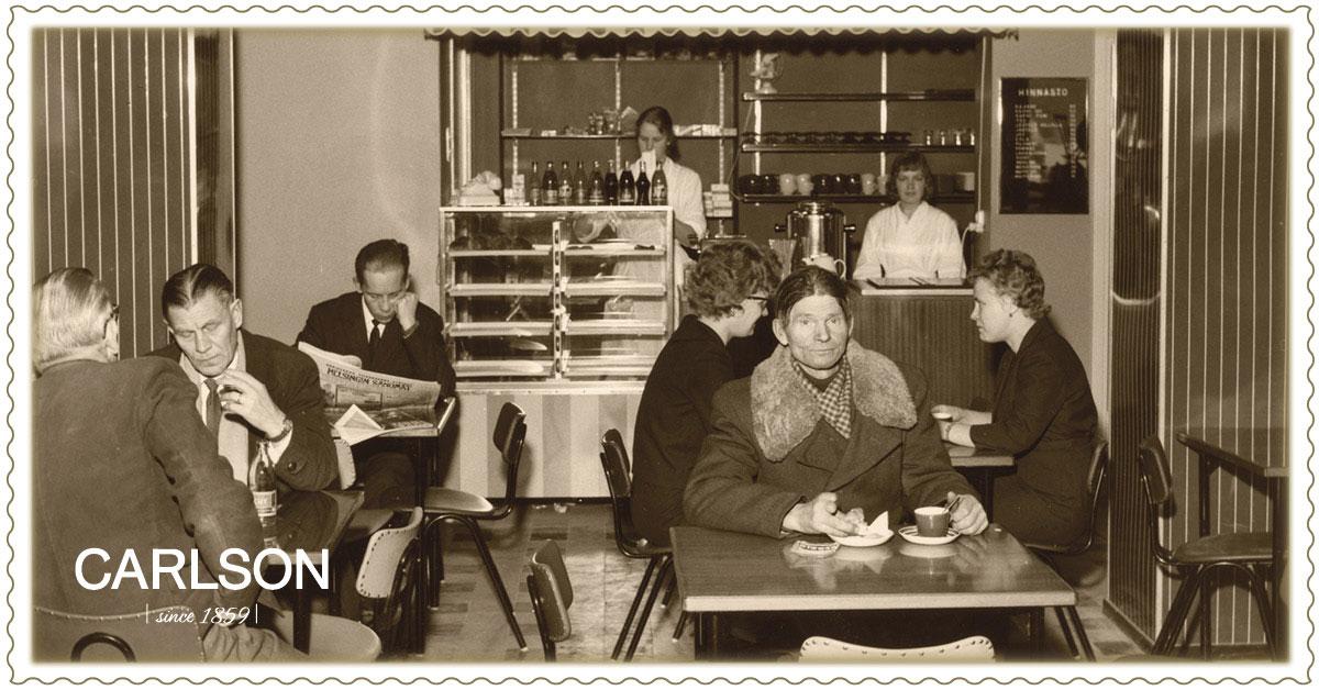 Carlsonin kahviossa 30.11.1960