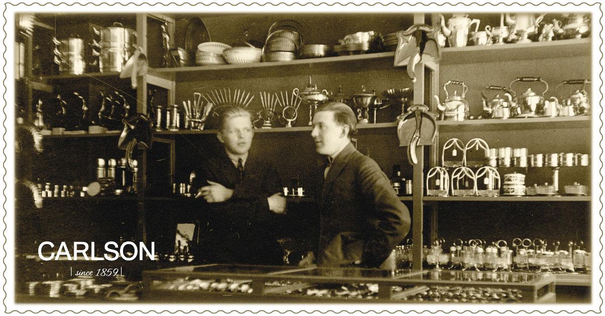 Carlsonin rautakaupan herrat 10.5.1926